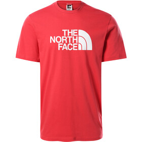 The North Face Easy SS Tee Men rococco red